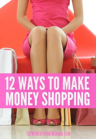 12 Ways to Make Money Shopping