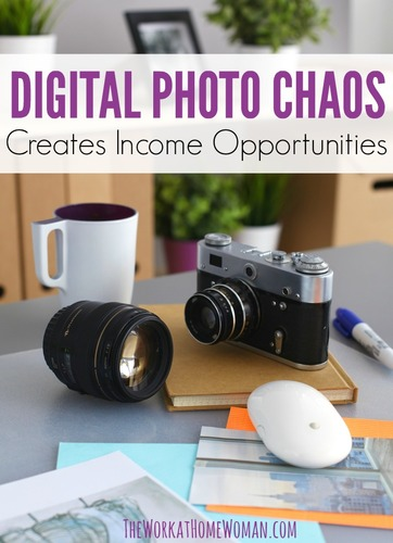 Digital Photo Chaos Creates Income Opportunities